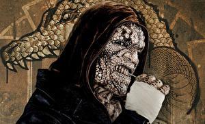 Фотография Отряд самоубийц 2016 Капюшон Killer Croc Фильмы Фэнтези