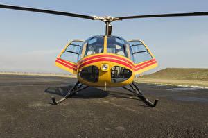 Фотографии Вертолеты Спереди Авиация
