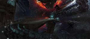 Обои Техника Фэнтези Корабли Ender's Game Фильмы Космос фото