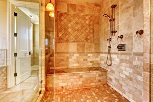 Обои Интерьер Дизайн Ванная Плитка фото