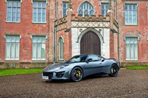 Обои Lotus Серый Металлик 2016 Evora Sport 410 Автомобили фото
