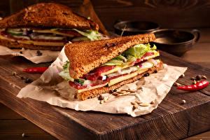 Картинка Фастфуд Бутерброды Хлеб Сэндвич