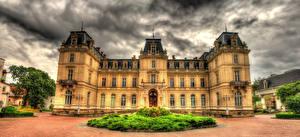Фотографии Украина Львов Дворец HDR Potocki Palace Города