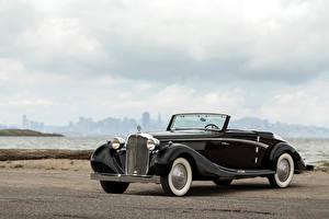 Фото Maybach Винтаж Черные Кабриолет Металлик 1938-41 SW38 Sport Cabriolet Авто