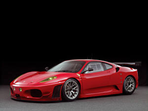 Обои Ferrari Тюнинг Красный Металлик 2006-11 F430 GTC by Michelotto Pininfarina Автомобили фото