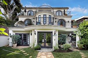 Обои Дома Особняк Дизайн Newport Beach Города фото