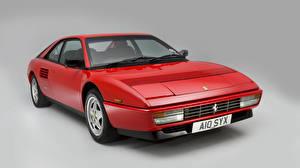 Обои Ferrari Ретро Красный 1989-93 Mondial T Pininfarina Автомобили фото
