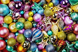 Картинки Праздники Новый год Много Шарики
