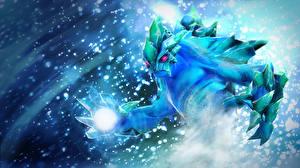 Обои DOTA 2 Morphling Сверхъестественные существа Магия Игры Фэнтези фото