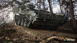 Обои Танки World of Tanks Strv 103B Игры фото
