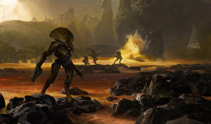 Фото Destiny (игра) Воители Робот Vex Игры Фэнтези