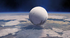 Фантастический мир Destiny (игра) Поверхность планеты Шарики Traveler's Rest Игры