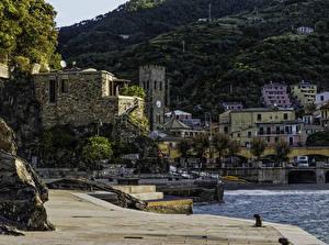 Фотографии Италия Побережье Дома Monterosso