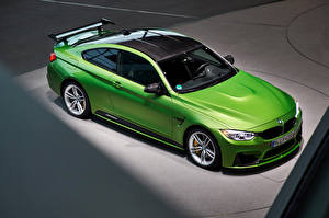 Обои BMW Салатовый Сверху 2014-16 M4 Coupe M Performance Accessories Worldwide Автомобили фото