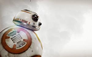 Картинка Звездные войны Звёздные войны: Пробуждение Силы Робот BB-8 Фильмы Фэнтези