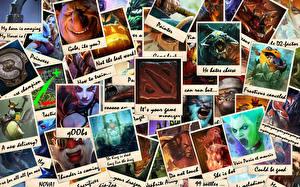 DOTA 2 Воители Монстры Игры