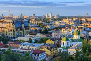 Обои Украина Здания Киев