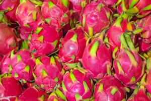 Обои Фрукты Вблизи Драконий фрукт Розовых Продукты питания