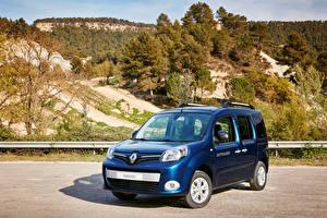 Фотография Renault Синяя 2016 Kangoo X-Track Автомобили