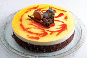 Картинки Сладости Торты Шоколад Пища