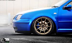 Фото Фольксваген Колесо Синий Jetta  Eryk Wroblewski JDM Style XXR Bora Автомобили