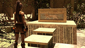 Обои Tomb Raider Tomb Raider Legend Лара Крофт Игры Девушки фото
