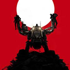 Фотографии Wolfenstein Робот The New Order Игры