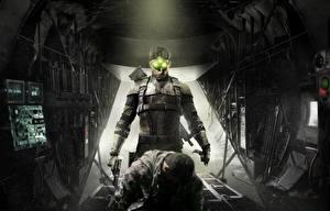 Обои Tom Clancy Splinter Cell Мужчины Воители Blacklist Игры фото