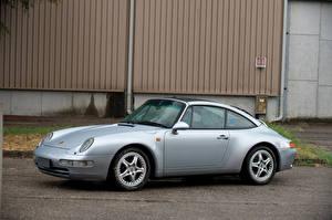 Фотография Porsche Серебристый 1995-97 911 Targa Автомобили