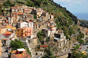 Картинка Италия Здания Сицилия Города