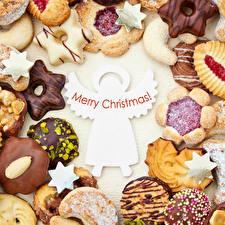 Картинки Новый год Печенье Шоколад