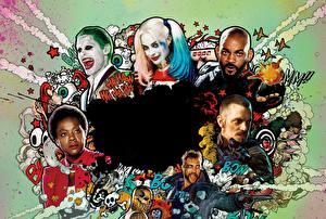 Обои Отряд самоубийц 2016 Харли Квинн герой Герои комиксов Will Smith Фильмы Знаменитости фото