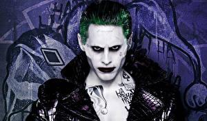 Обои Отряд самоубийц 2016 Jared Leto Джокер Герои комиксов Фильмы Знаменитости фото
