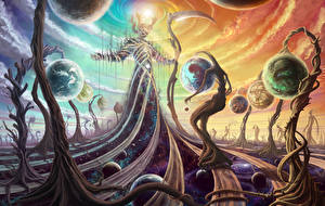 Фотография Фантастический мир Сверхъестественные существа Коса (оружие) Фэнтези