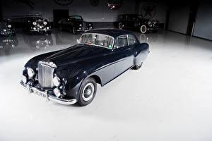 Картинки Винтаж Bentley Черный Металлик 1953-55 R-Type Continental Sports Saloon by Mulliner AT LHD авто