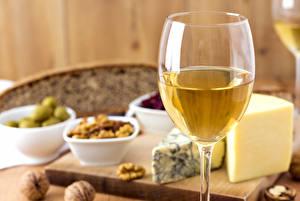 Картинки Вино Сыры Бокалы Еда