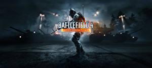 Обои Battlefield 4 Снайперская винтовка Танки Снайперы Игры фото