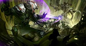 Обои Destiny (игра) Воители Битвы Игры Фэнтези фото