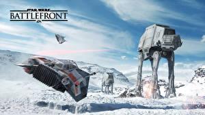 Star Wars Battlefront 2015 Техника Фэнтези Корабли Снег Игры