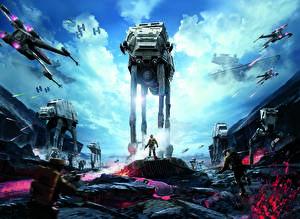Star Wars Battlefront 2015 Техника Фэнтези Воители Игры