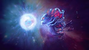 Фото DOTA 2 Puck Сверхъестественные существа Магия Игры Фэнтези