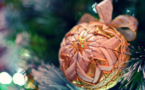 Картинки Праздники Рождество Шарики Бантик