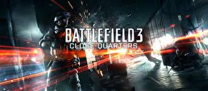 Обои Battlefield Солдаты Автоматы Слово - Надпись 3 Игры фото
