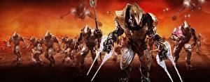 Обои Halo Воители Доспехи Wars Игры Фэнтези фото