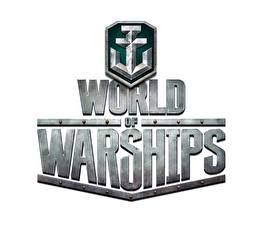 Фотографии World Of Warship Логотип эмблема Слово - Надпись Игры