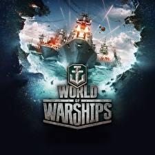 Обои World Of Warship Корабли Слово - Надпись Игры Армия фото