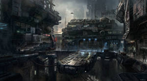 Обои Star Citizen Фантастический мир Игры Фэнтези
