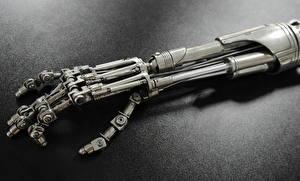 Фото Терминатор Пальцы Руки Робот T-800 Фэнтези