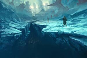 Фотографии Halo Воители Лед Wars Игры Фэнтези