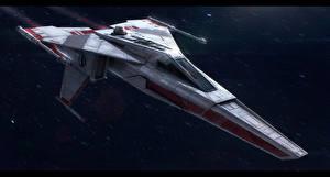 Обои Звездные войны Техника Фэнтези Корабли Incom T-45 Фильмы Фэнтези Космос фото